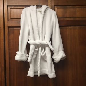 GAP kids hooded fleece robe